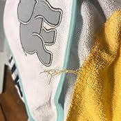 Amazon.com: Toalla con capucha y 5 toallas de mano Luvable ...