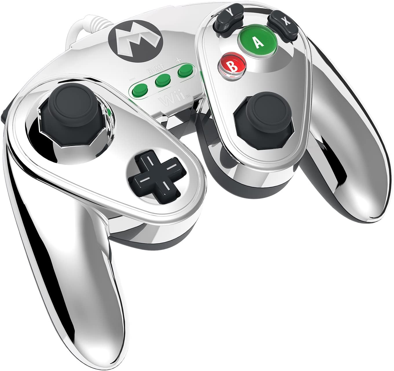 Pdp Wired Fight Pad For Wii U Metal Mario Nintendo Gamecube Controller Wiring Diagram Right Stick Video Games