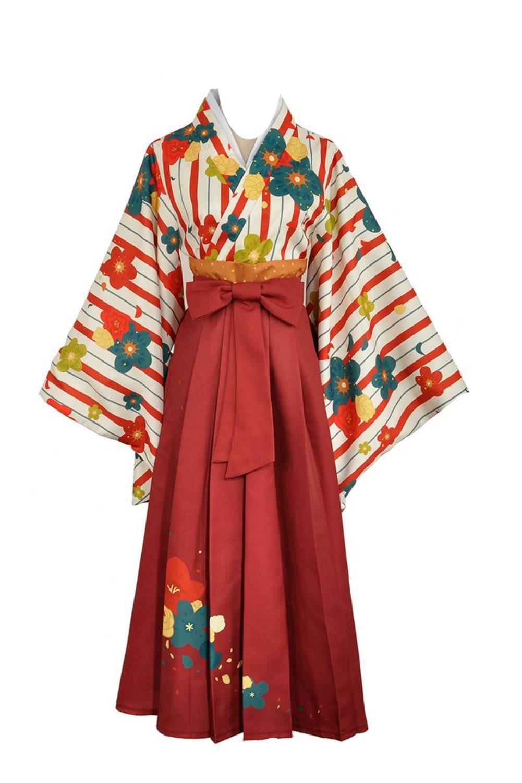 Love Live Maki Nishikino Taisho Kimono Dress