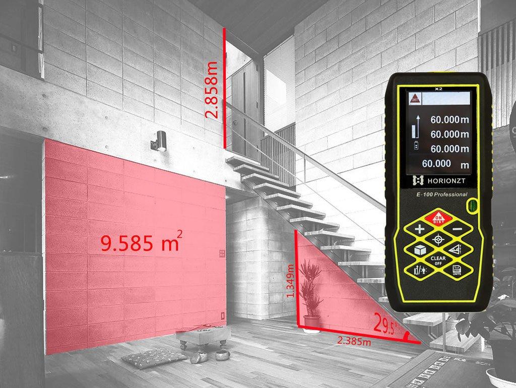 Laser Entfernungsmesser Outdoor : Horionzt 100 m 328ft laser entfernungsmesser handheld digital