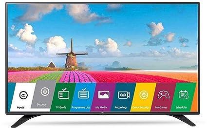 9c20a5af96c LG 108 cm (43 Inches) Full HD LED TV 43LJ531T (Space Black)
