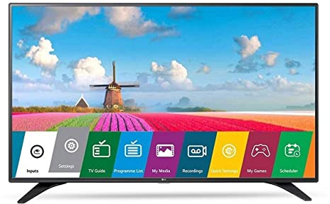 LG 108 cm (43 Inches) Full HD LED TV 43LJ531T (Space Black) (2017 model) Standard Televisions at amazon