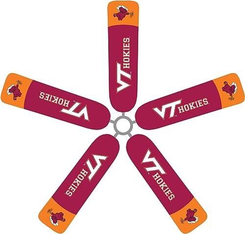 Fan Blade Designs 6615 Virginia Tech Hokies Ceiling Fan Blade Cover