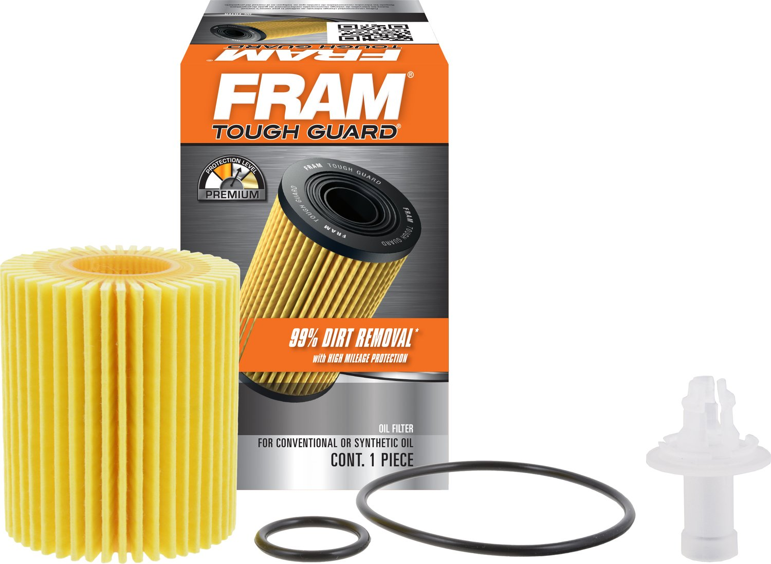 FRAM TG10158 Tough Guard Full-Flow Cartridge Oil Filter