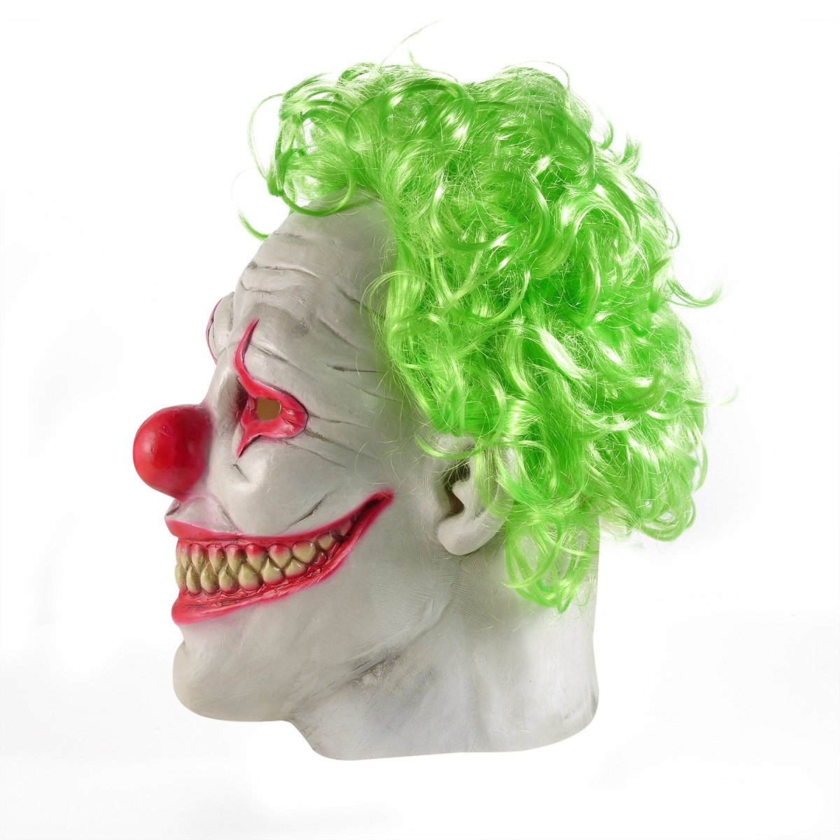 Amazon.com: Joker Mask, Halloween Latex Clown Mask for Adults ...