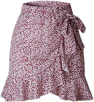 RYTEJFES Falda Mujer Sexy Falda Corta Falda Mini Columpio Falda ...