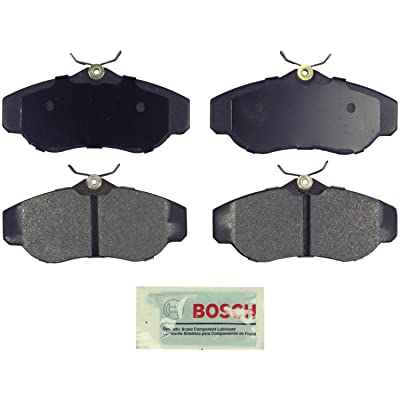 Bosch BE676 Blue Disc Brake Pad Set for 1999-04 Land Rover Discovery and 1996-02 Range Rover - FRONT: Automotive