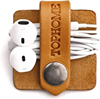 TOPHOME Cord Organizer Earbud Holders Earphone Wrap Earphones Organizer Headset Headphone Earphone Wrap Winder Cord...