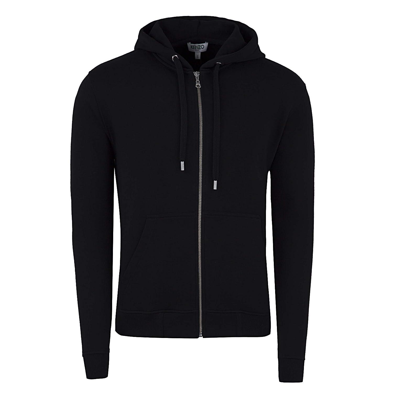 a8d83ce5 Kenzo TOP Zipper Hoodie Tiger Embroidery Logo Back F865BL721 4XA:  Amazon.co.uk: Clothing