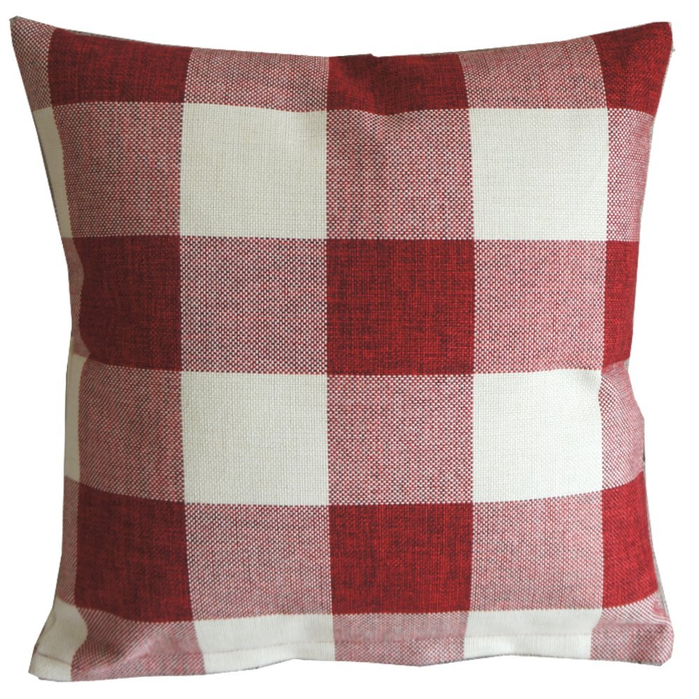 sack grain a bucket stripe authentic pillow red products lumbar vintage southern
