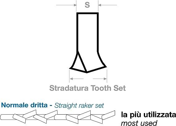 SBM M42 Lot de 3 lames de scie /à ruban HSS bi-m/étal 1325 x 13 x 0,65 mm avec 6//10 dents