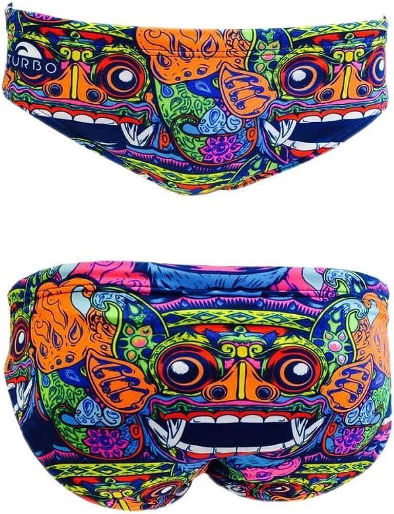 Costume da bagno da Waterpolo Bali Tribal Slip di Waterpolo da competizione nuoto e triathlon modello di vestibilit/à confortevole Turbo