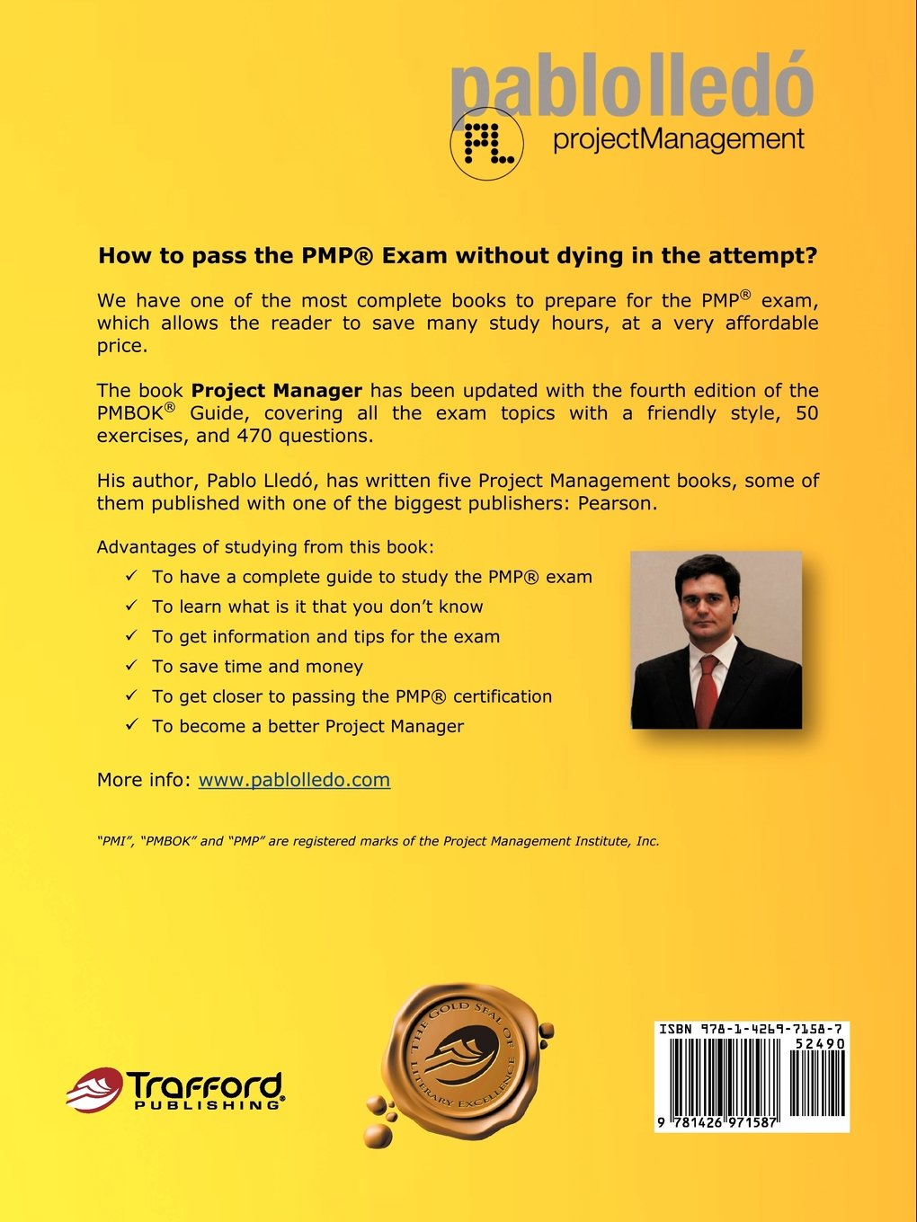 Project Manager How To Pass The Pmp Exam Without Dying In The