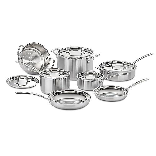 Cuisinart MCP-12N Multiclad Pro Stainless Steel 12-Piece