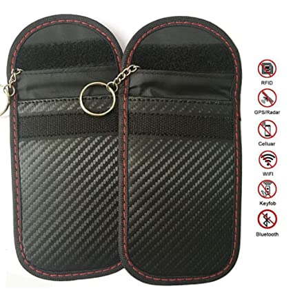 Bolsa de protección de llave de coche Sellado de velcro ...