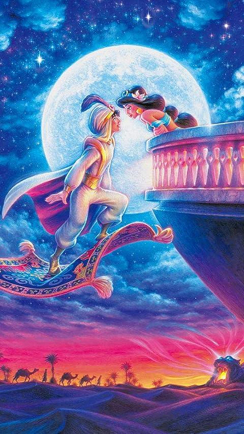 ディズニー アラジン, ジャスミン XFVGA(480×854)壁紙画像