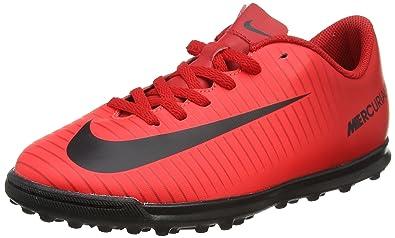 hot sale online cc442 095bf Nike Unisex-Erwachsene Mercurial X Vortex III TF JR 831954 616 Sneaker  Mehrfarbig (Indigo