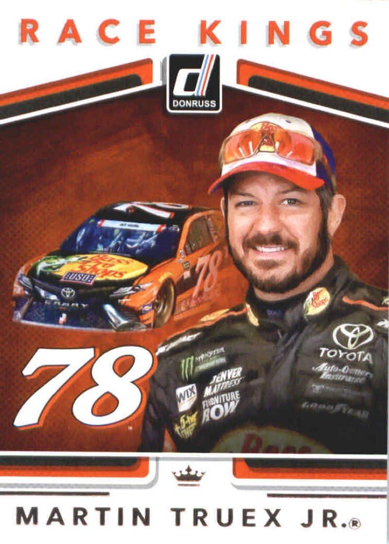2018 Donruss Racing Race Kings #22 Martin Truex Jr Official NASCAR Trading Card