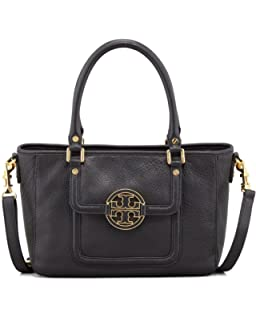 936a1d3d19 Tory Burch Amanda Double Handle Classic Leather Convertible Hobo ...