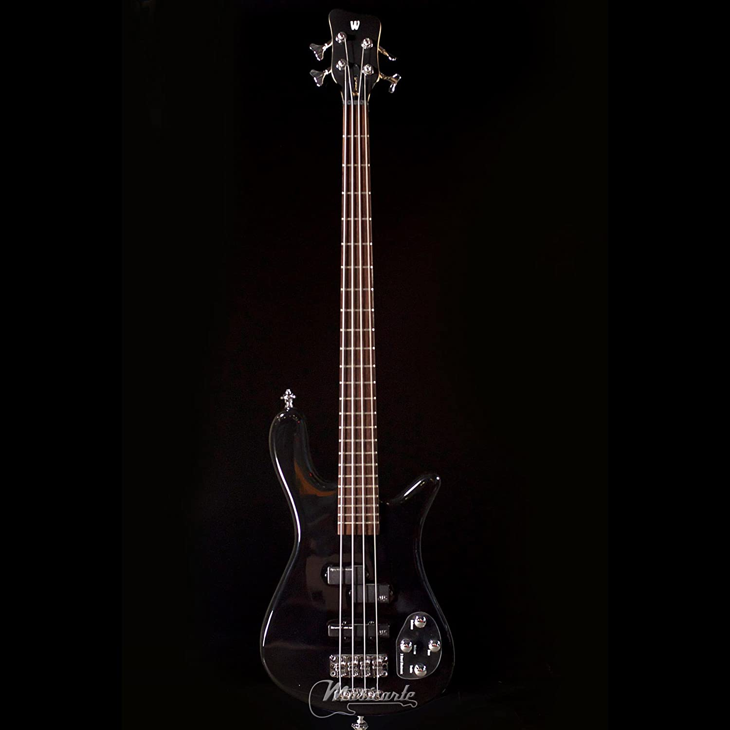 warwick rockbass streamer 4 string black high polish