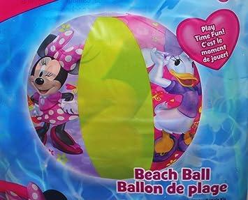 Disney Studios - Pelota de Playa de Minnie Mouse: Amazon.es ...