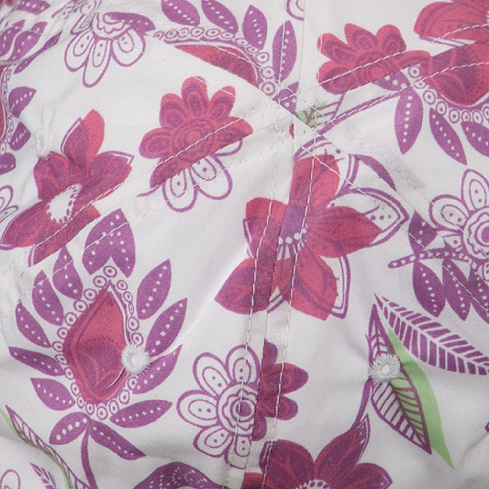 Ladies Floral Bucket Hat Lilac