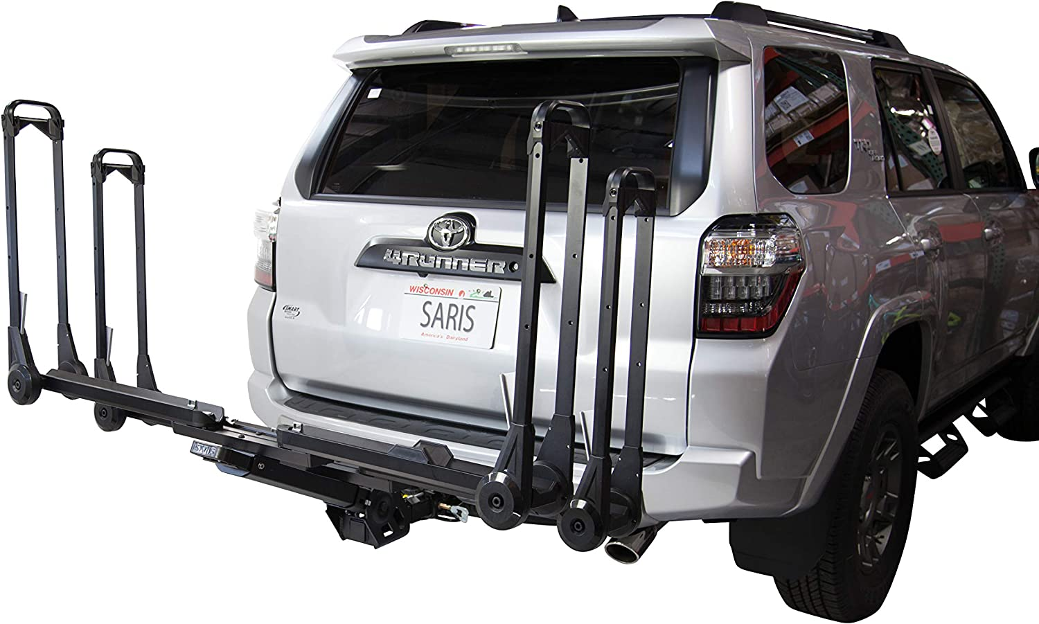 Saris MTR Bike Hitch Car Rack, Hitch Bicycle Rack with Add-On Extension Options, 1-4 Bike Carrier