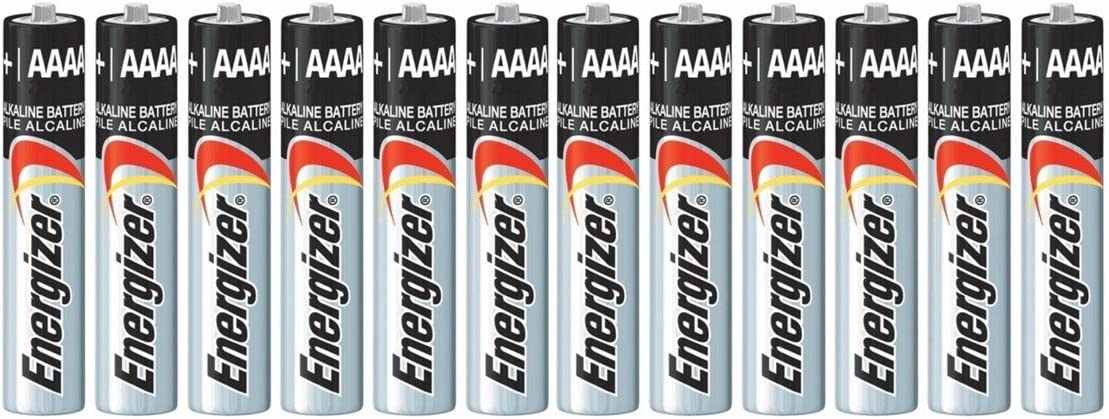 AAAA ENERGIZER E96 Batteries x 12 batteries exp. date 2022: Health & Personal Care