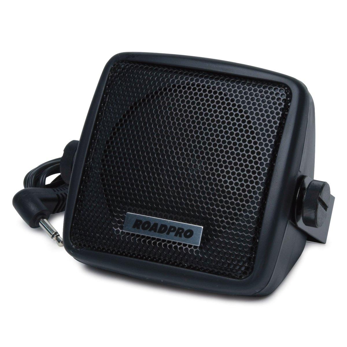 RoadPro RP-108C 2-3//4 CB Extension Speaker with Swivel Bracket