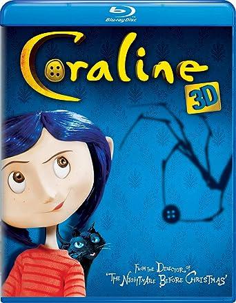 Amazon Com Coraline Blu Ray 3d Dvd Combo Dakota Fanning Teri Hatcher Henry Selick Movies Tv
