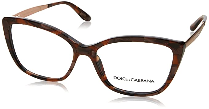 1f52b7edc50 Image Unavailable. Image not available for. Color  Eyeglasses Dolce  amp  Gabbana  DG 3280 3131 CUBE BRONZE