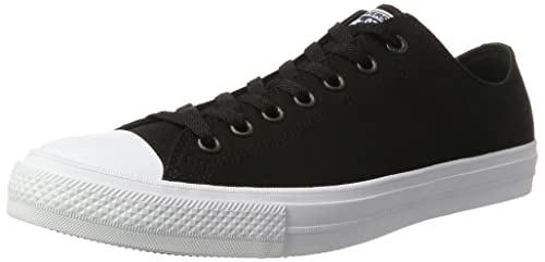 Converse Unisex-Erwachsene Ct As Ii Ox Tencel Canvas Sneaker Dekollete, Schwarz (Black/White/Navy), 46.5 EU