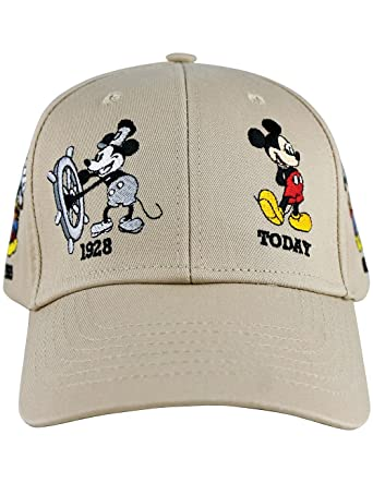vintage disney baseball caps character hats mickey mouse adult history cap khaki cruise line for adults