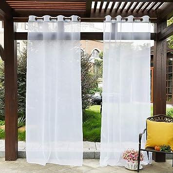 Outdoor Gardinen Transparent