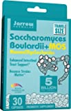 Jarrow Formulas Saccharomyces Boulardii and MOS, Enhanced Intestinal Tract Support, 5 Billion Cells Per Capsule, 30 Vegetarian Capsules
