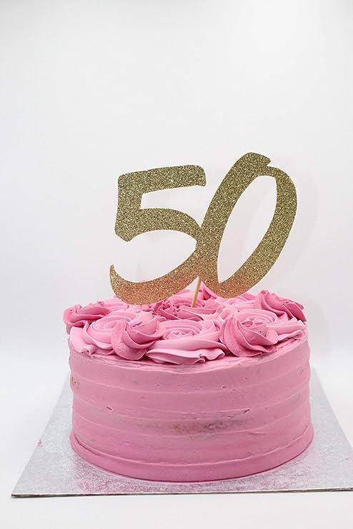 30 40 50 60 70 80 90 Decoración para tarta con purpurina ...