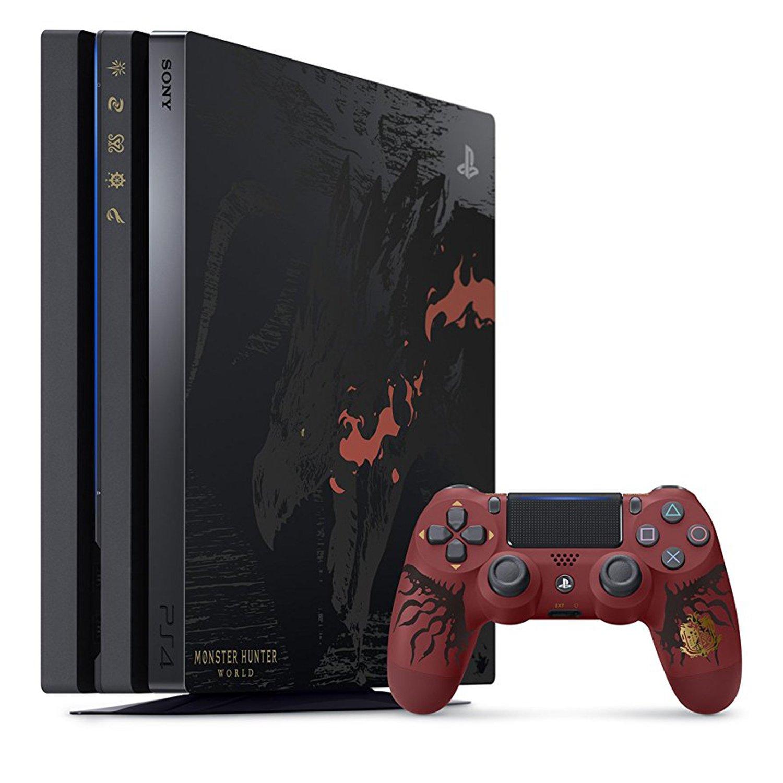 Amazon Com Playstation 4 Pro Monster Hunter World Liolaeus Edition Video Games