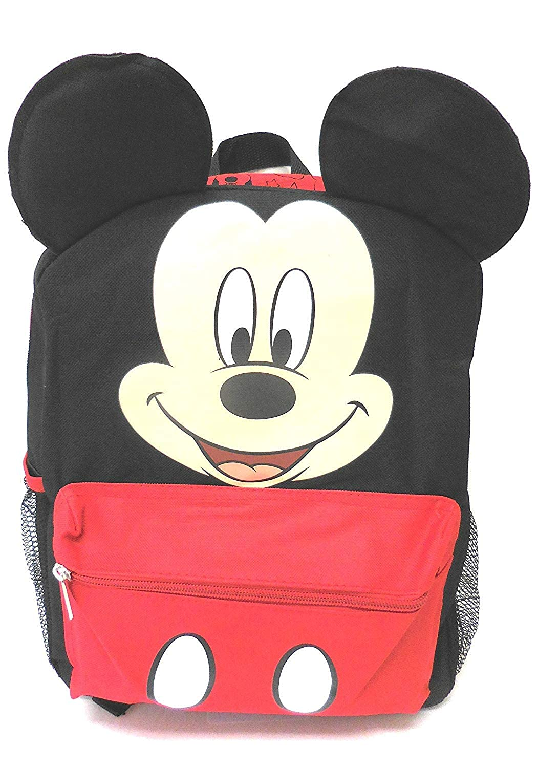 Disney Mickey Mouse Smiley Face and Ears Kids 12 Backpack