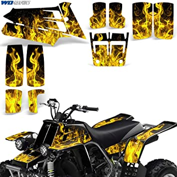 Blue FMF Graphics Kit fits a Yamaha Banshee 350 ATV Fenders Plastics Decals Stickers