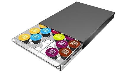 Abeba Tavola Swiss 5049024 Cassetto - Dispensador para 30 cápsulas Nespresso plástico 45 x 35 x