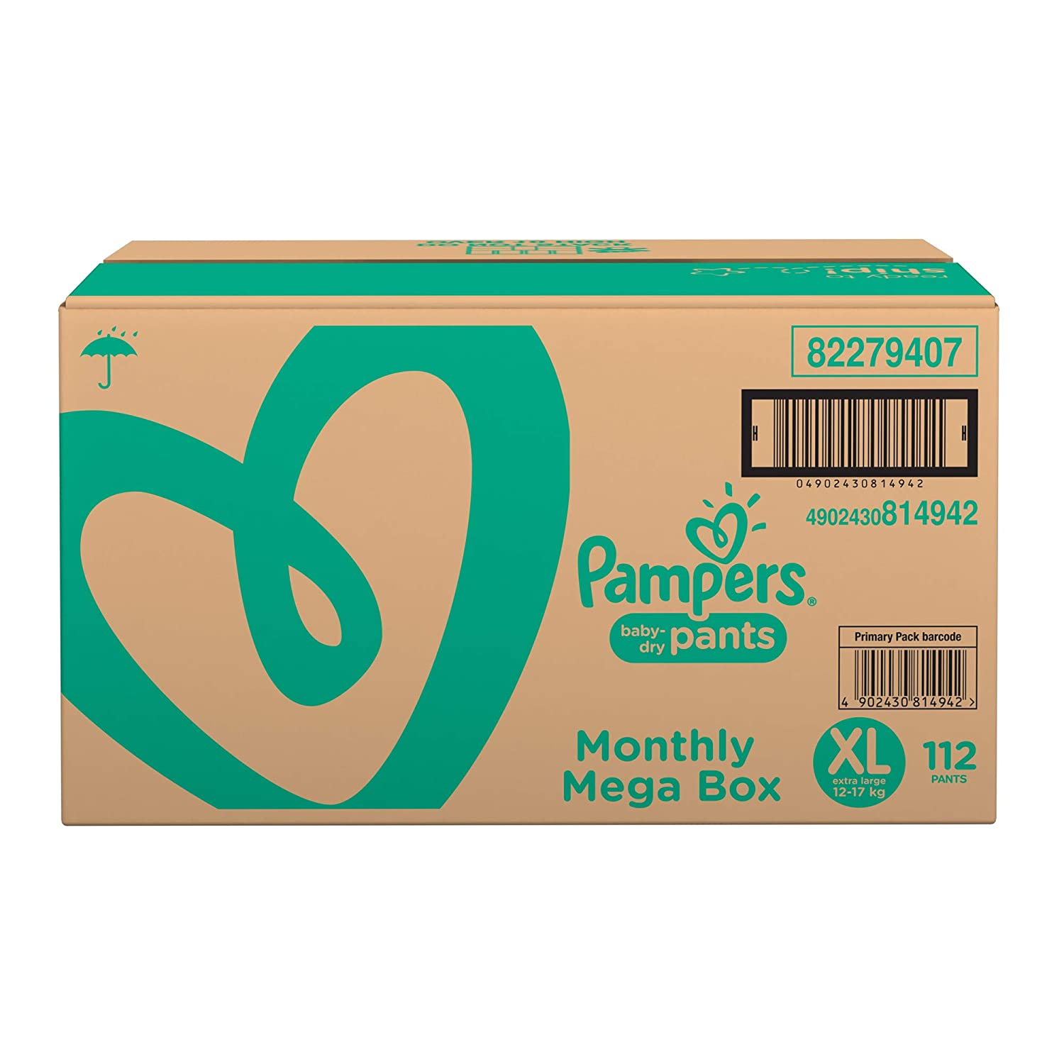 meet 4d6f5 d05f8 Buy Pampers New Diapers Pants Monthly Box Packs, X-Large (112 Count) Online  at Low Prices in India - Amazon.in