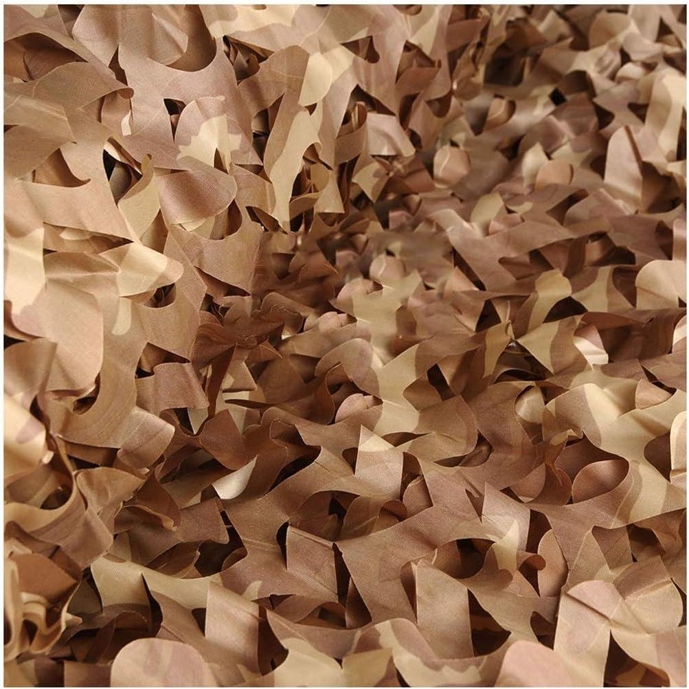 Ombre ext/érieure d/ésert Filet de Camouflage ZHANGKANG Size : 1.5x3m 150D Polyester Oxford Simple Couche Pare-Soleil Net en Plein air Chasse Tir Sunscreen cach/é Camping Taille: 1.5x9m
