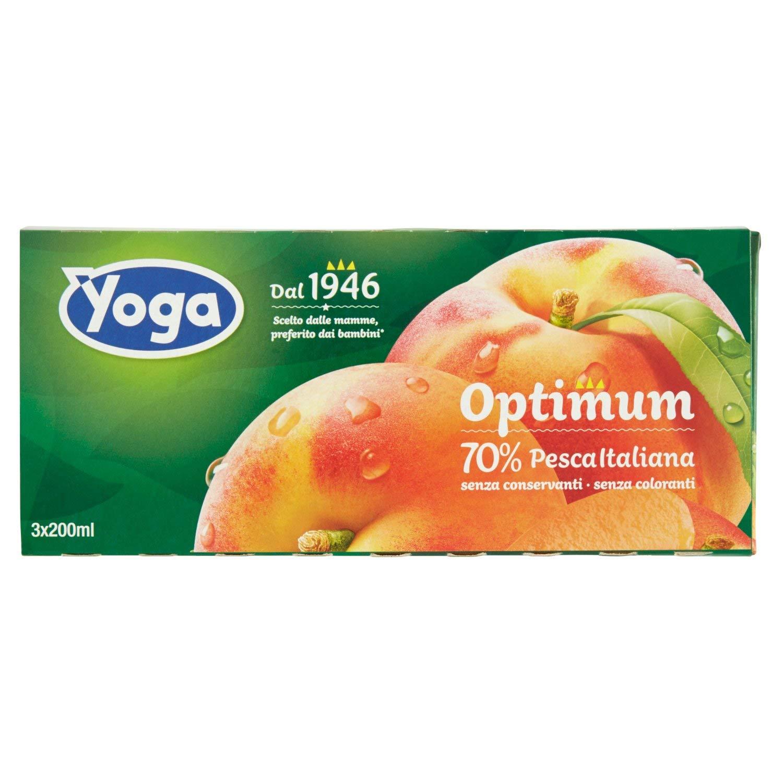 Yoga Succo di Pesca - Confezione da 3 x 200 ml