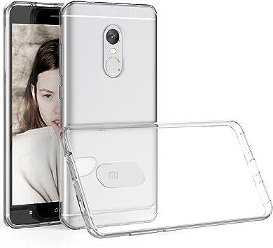 HanLuckyStars Funda Xiaomi Redmi Note 4, Carcasa Xiaomi Redmi Note 4X Case TPU Silicona Gel [Ultra Fina][Anti-Choques] para Xiaomi Redmi Note 4X: Amazon.es: Electrónica