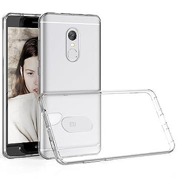 Funda Xiaomi Redmi Note 4, HanLuckyStars Carcasa Xiaomi Redmi Note 4X Case TPU Silicona Gel [Ultra Fina][Anti-Choques] para Xiaomi Redmi Note 4X