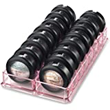 byAlegory Acrylic Eyeshadow Makeup Organizer | 16 Spaces