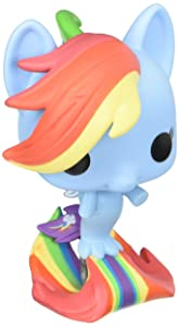 Funko POP MLP: My Little Pony Movie - Rainbow Dash Sea Pony (Styles May Vary) Collectible Vinyl Figure