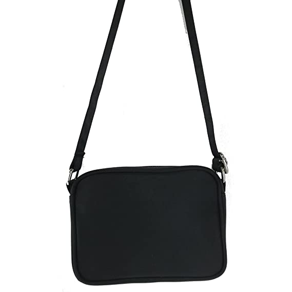 585d6d3e16c7 Amazon.com  Crossbody Bag-Cell Phone Purse-Midnight Black- Fits All ...