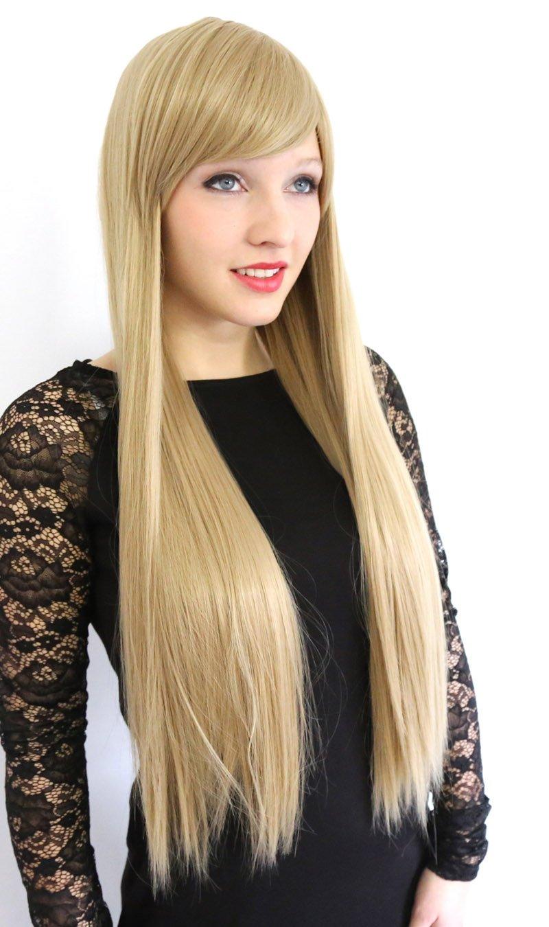 Blonde lange haare durchgestuft