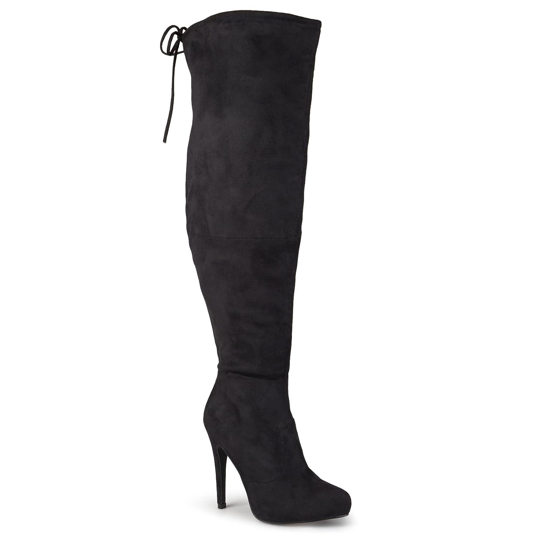 Amazon.com | Journee Collection Women\'s Over-the-knee High Heel ...